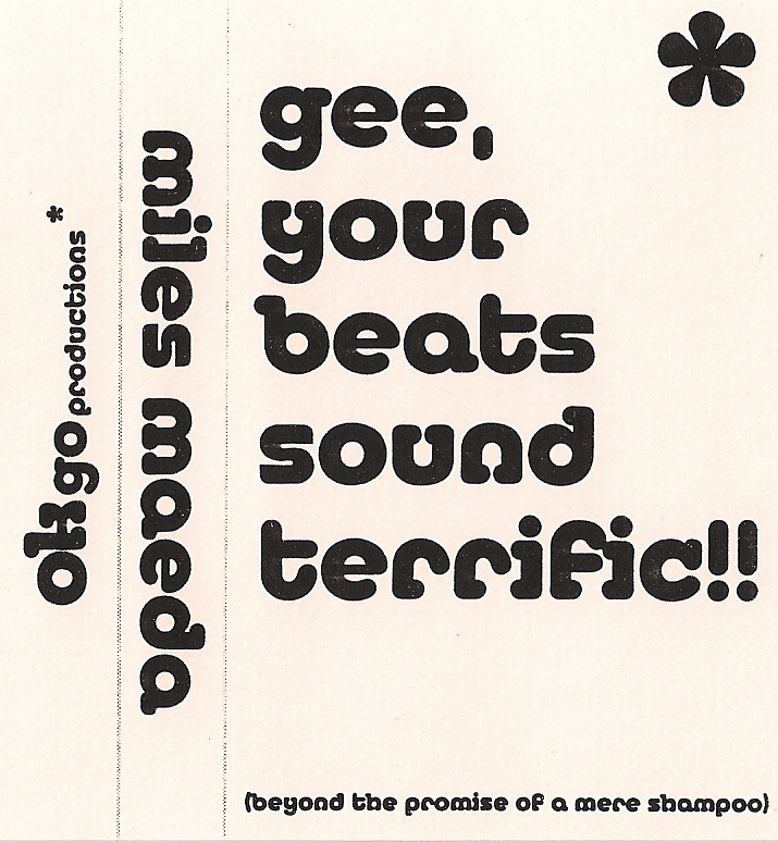 gee your beats sound terrific!!